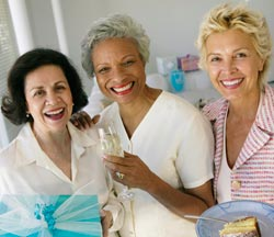 three-women-smile menopause